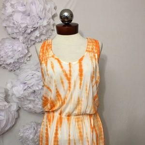 Young Fabulous & Broke Dresses - YOUNG FABULOUS & BROKE tie dye racerback dress S